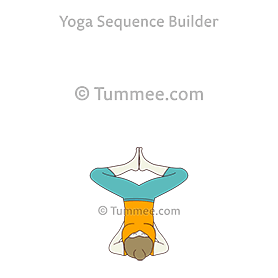 how to do salamba sarvangasana baddha konasana  tummee