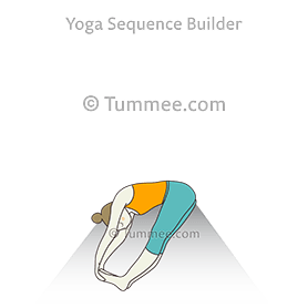 paschimottanasana yoga seated forward bend pose  yoga