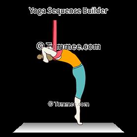 rising standing cobra pose yoga utthita stiti