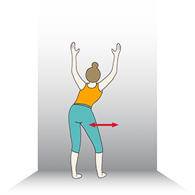easy beginner yoga sequence yoga poses against the wall