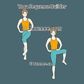 Standing Hip Rotations Flow Yoga (Tadasana Hip Rotations Vinyasaa ...