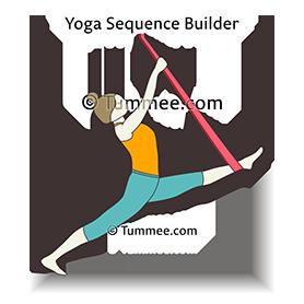 half splits pose yoga ardha hanumanasana  yoga