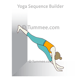 how to do hanumanasana at wall  tummee