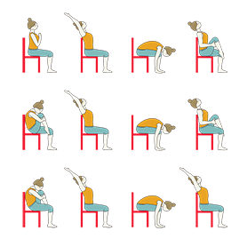 chair yoga for senior citizens chair yoga for back pain