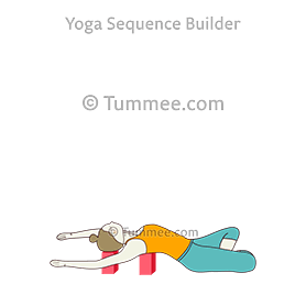 fish pose blocks matsyasana blocks variations  19