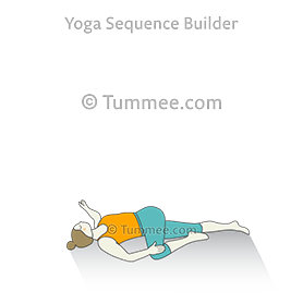 Supta Matsyendrasana I Yoga Supine Spinal Twist Yoga Pose I Yoga Sequences Benefits Variations And Sanskrit Pronunciation Tummee Com