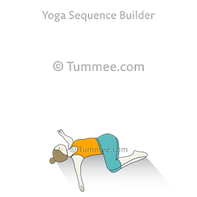 Supine Spinal Twist Pose Ii Yoga Reclined Twist Yoga Sequences Benefits Variations And Sanskrit Pronunciation Tummee Com