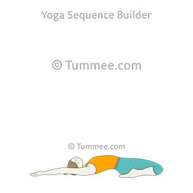 supta virasana yoga reclining hero pose  yoga sequences