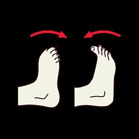 Toes Bending