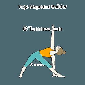 triangle pose yoga  yoga for you