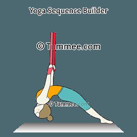 two legged inverted staff pose aerial dwi pada viparita