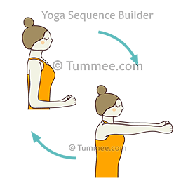 upper back yoga poses  850 upper back yoga poses to plan