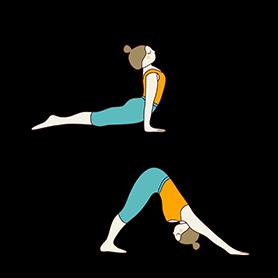 beginner level aerial yoga sequence  tummee