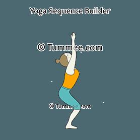 standing cat cow pose yoga tadasana bitilasana