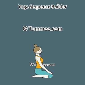 vajrasana yoga thunderbolt pose  yoga sequences