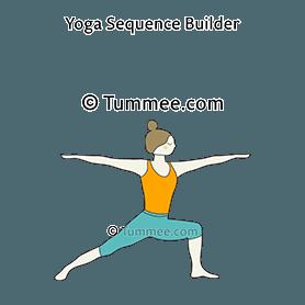 warrior pose ii yoga virabhadrasana ii  yoga sequences