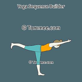 airplane pose yoga dekasana  yoga sequences benefits