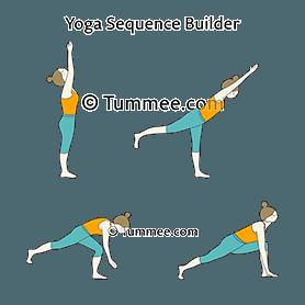 crescent high lunge pose ashta chandrasana variations