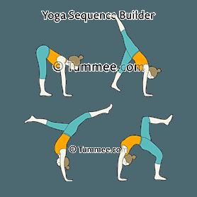 dwi pada viparita dandasana yoga twolegged inverted