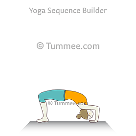 Wheel Pose Prep Yoga (Urdhva Dhanurasana Prep) | Yoga ...