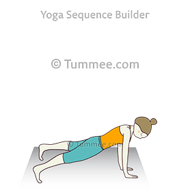 wide legged plank pose yoga prasarita padottanasana